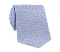 Silk Woven Grenadine Tie in Glacier