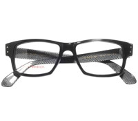 Bold Rectangular Frame in Black
