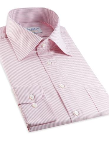 170's Pink & White Bengal Stripe Kelly Collar