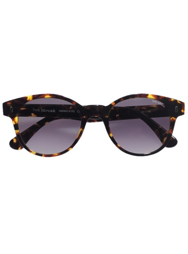 Large Round Sunglasses in Tortoise