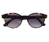Large Round Sunglasses in Tortoise