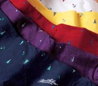 Burgee Motif Cotton Socks
