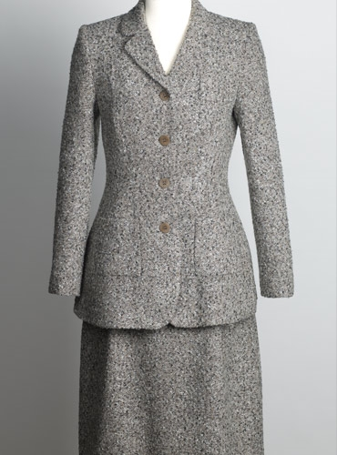 Ladies Tweed Jacket in Slate