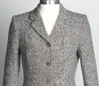 Ladies Tweed Jacket in Slate