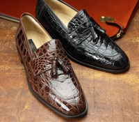 Tassel Crocodile Loafer