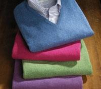 Lambswool V-Neck Sweater Vest