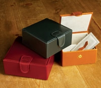 Bridle Leather Jewelry Boxes