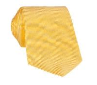 Silk Basketweave Solid Tie in Sun