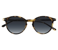 P3 Sunglasses in Tortoise with Blue-Grey Lenses