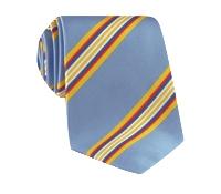 Mogador Striped Tie in Sky