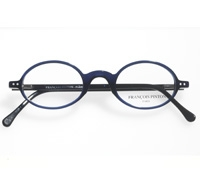 Classic Oval Frame in Marine and Black