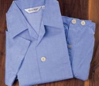 Blue Shortie Pajamas