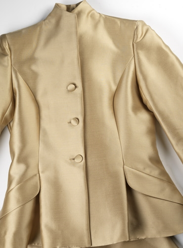 Ladies Gabardine Suit in Sable