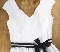 Ladies Cotton Maxi Dress White