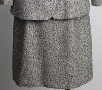 Ladies Tweed Skirt in Slate
