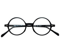 Black English Round Frame