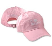 Youth Size Ben Silver Logo Cap in Pink