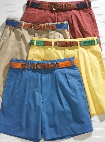 Brushed Cotton Shorts