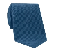 Mogador Silk Solid Signature Tie in Teal