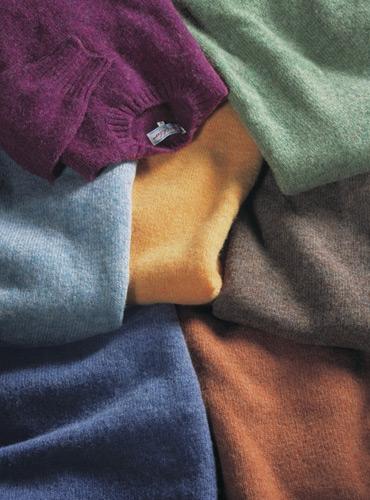 Shetland Wool Crewneck