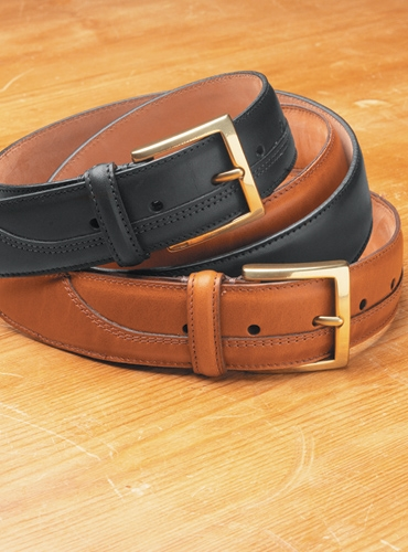 Overstock English Leather Bridle Belts