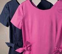 Ladies Cotton Bow Dress