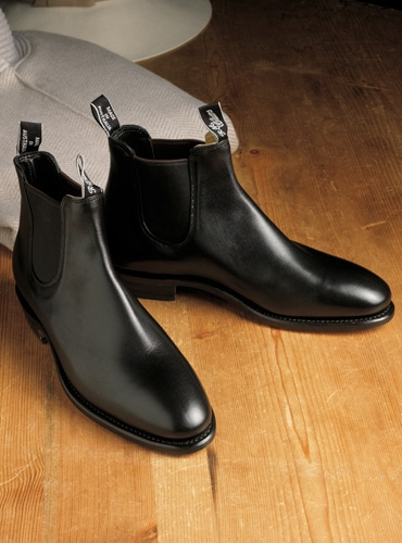 a9b75dea711 R.M. Williams Adelaide Boots in Black Leather