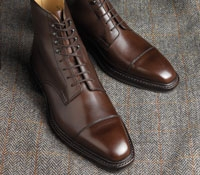 Northcote Boot in Dark Brown Calf