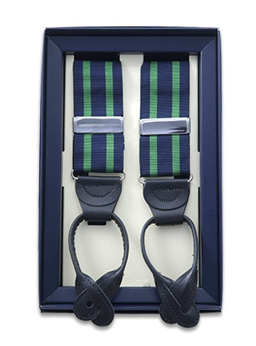 Double Stripe Grosgrain Braces
