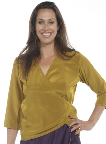 Marie Meunier Sue Blouse in Mustard