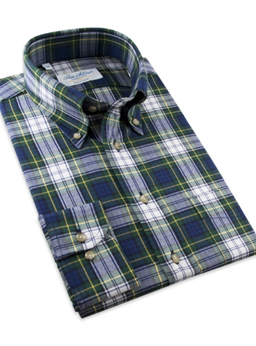 Dress Gordon Brushed Cotton Button Down