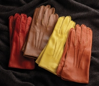 Ladies Unlined Deerskin Gloves