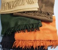 Solid Cashmere Scarves