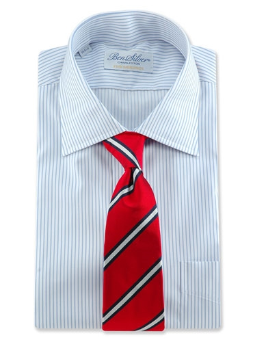 S31- New Red, Oxford Blue, Silver-white