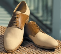 The Bosham Saddle Shoe