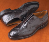 The Alden Wingtip Bal in Cordovan