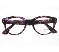 Bold Cateye Frames in Purple and Brown