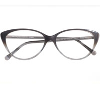 Bold Cat-eye Frame in Grey