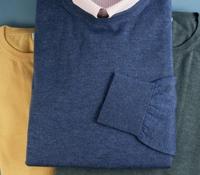 Cashmere and Silk Crewneck Sweater
