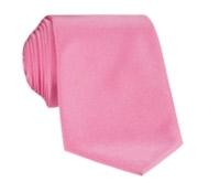 Mogador Silk Solid Signature Tie in Rose
