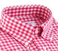 Strawberry Gingham Shirt