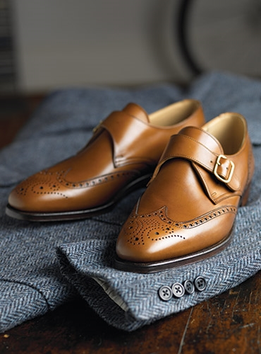The Chalfont Monk Strap in Tan