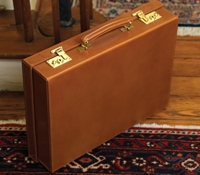 Attaché Case in Hazel