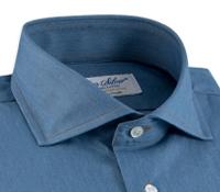 Denim Modified Cutaway Dress Shirt