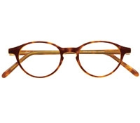 Elongated P3 Frame in Amber-Gold