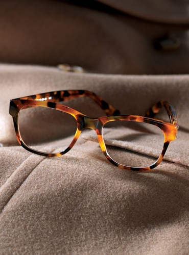 Elongated Frame in Tortoise