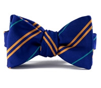 Mogador Double Stripe Bow in Stewart