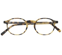 Classic Oval Frame in Tokyo Tortoise