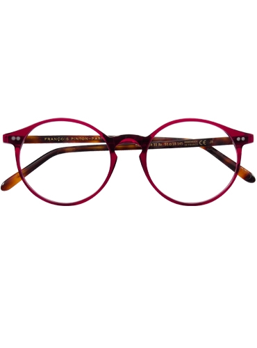 P3 Frames in Rouge with Amber Temples