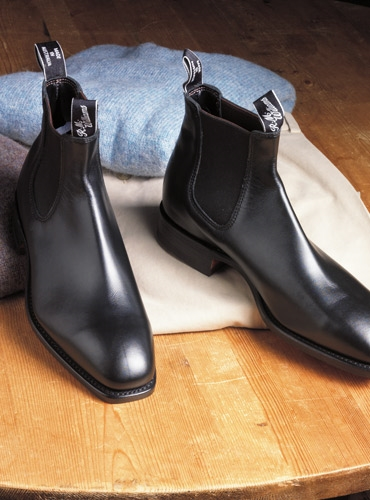 R.M. Williams Boots in Black